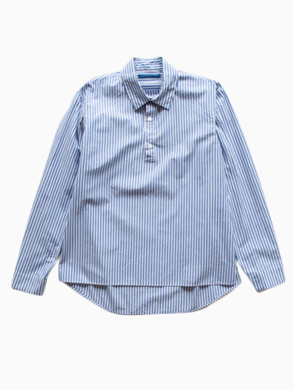 semoh Stripe Shirts (Navy)