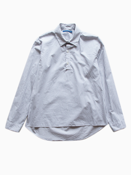 semoh Stripe Shirts (Grey)