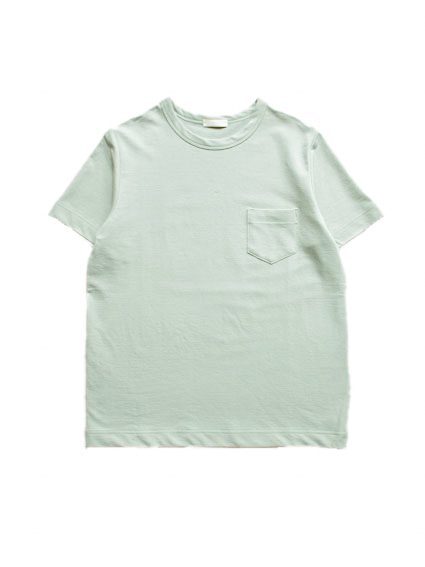 Cotton Inlay S/S Tee (Moss Green)