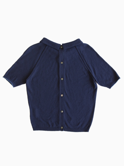 TARV Cotton R Polo(NAVY)