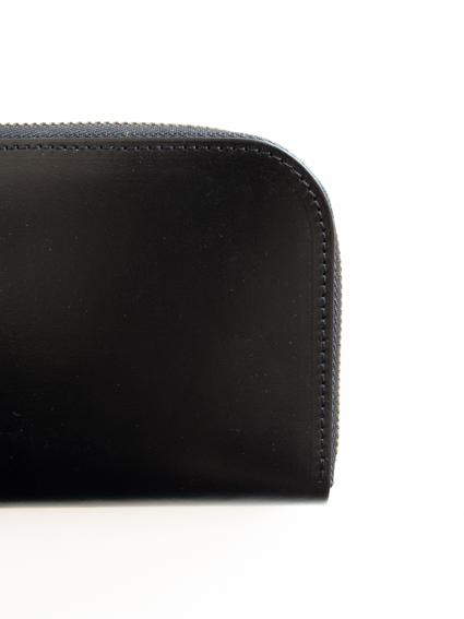 ViN Zip Short Wallet クロ