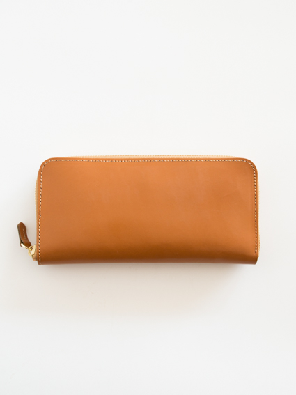 ViN Zip Long Wallet タン