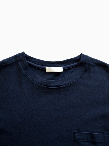 niuhans Botanical Dye Pocket Tee(Navy)