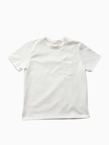 niuhans Heavyweight Cotton Pocket Tee (white)