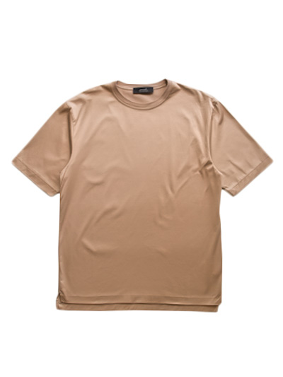 semoh Albini Cotton T-Shirt (Beige)