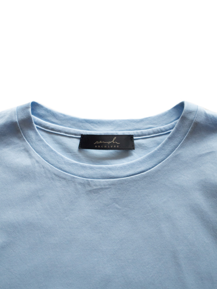 semoh Albini Cotton T-Shirt (Blue)