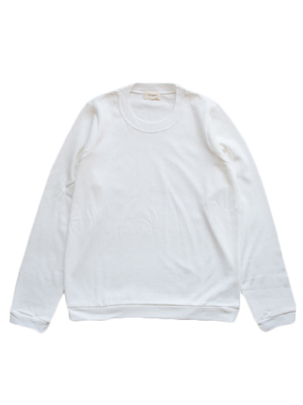 Organic Cotton L/S T-Shirt (White)