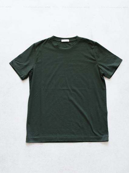 niuhans Cotton Cashmere S/S Tee(Green)
