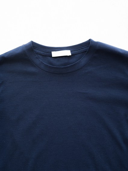 niuhans Cotton Cashmere S/S Tee(Navy)