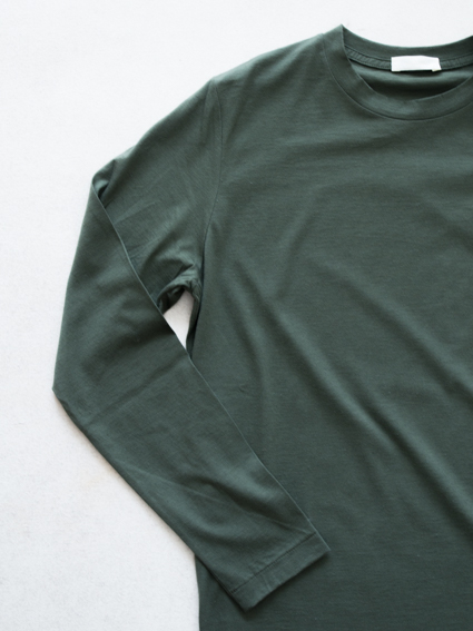 niuhans Cotton Cashmere L/S Tee(Green)