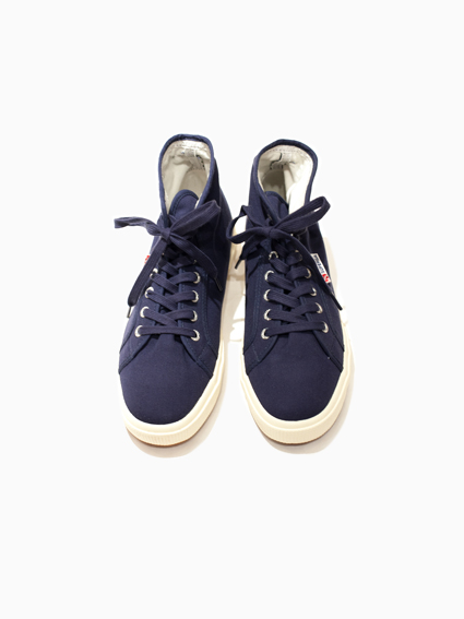 SUPERGA Hi-cut Canvas(D.Blue)