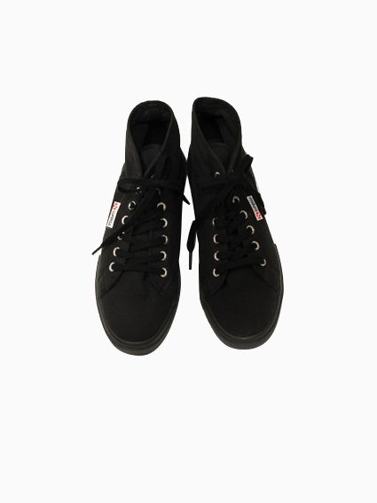 SUPERGA Hi-cut Canvas(FULL BLACK)