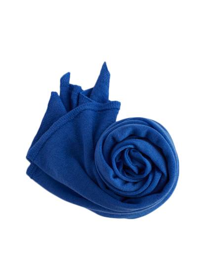 Cashmere High Gauge Plain Stall (French Blue)