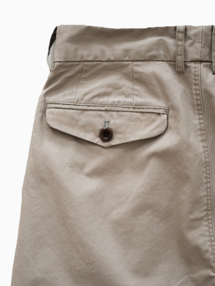 Honor gathering Used Finished Cotton Pants (beige)