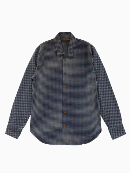 Honor gathering Classic Check Shirt (Gray Check)