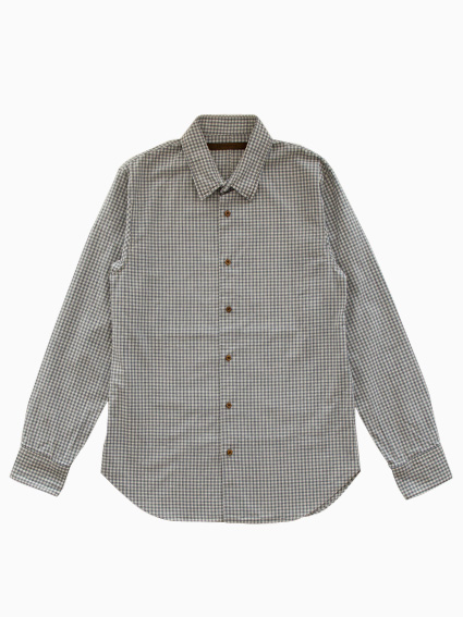 Honor gathering Classic Check Shirt (Blue Check)