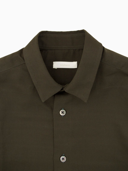 niuhans Double-cloth Cotton Shirt (Khaki)