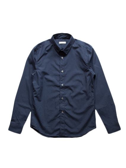 Finx Cotton Typewriter Shirt (D.Navy)