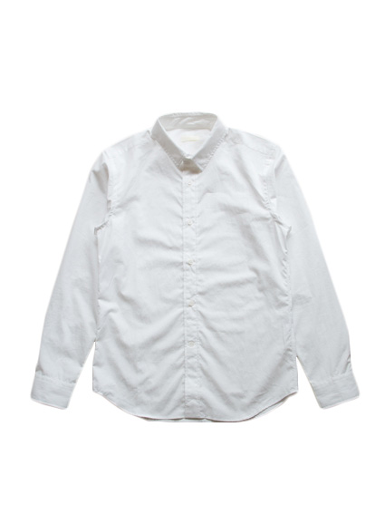 Finx Cotton Typewriter Shirt (White)