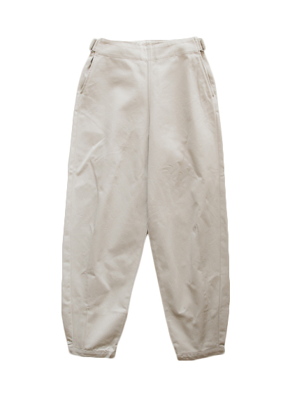 Cotton OSFA Wide Pants (Beige)