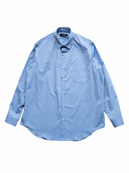 semoh Gather Shirts (Blue)