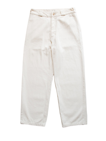 Organic Cotton Denim Pants (Natural)