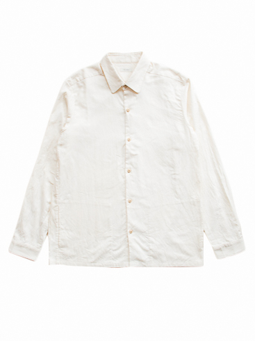 Oxford Round Collar Shirt (Natural)