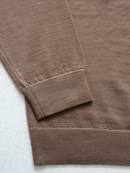 niuhans Wool Turtle Neck Sweater (Camel)