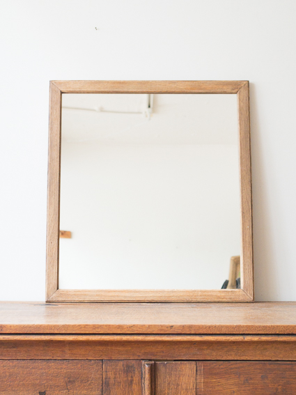 Oak Mirror  (England 1940`s)