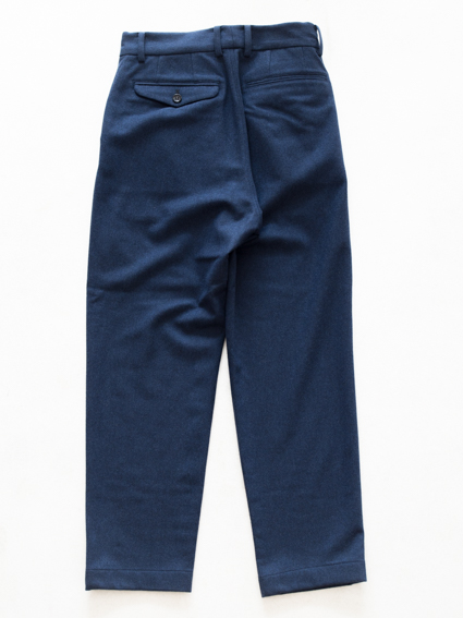 Honor gathering tasmania wool pants (mix blue)