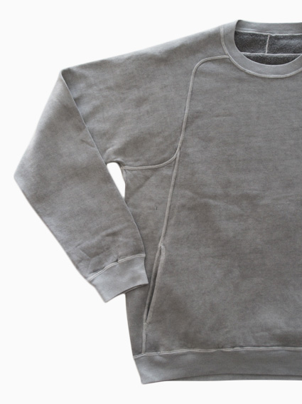 THE HINOKI Cotton Sweat Shirt (Gray)