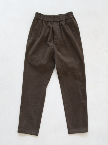 Honor gathering mix cotton Pants(mix khaki)