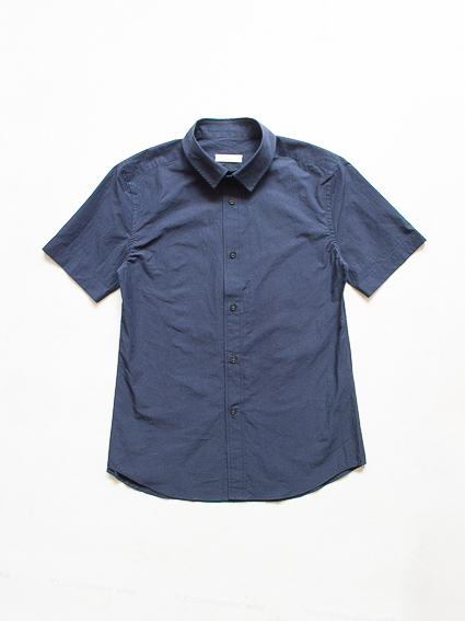Sound Cloth Cotton S/S Shirts (D.Navy)