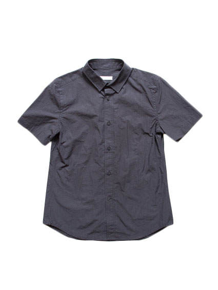Sound Cloth Cotton S/S Shirts (D.Brown)