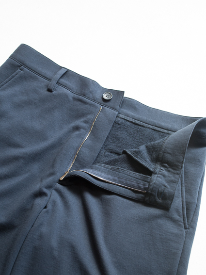 Smooth Cotton Sweat Shorts (Navy)