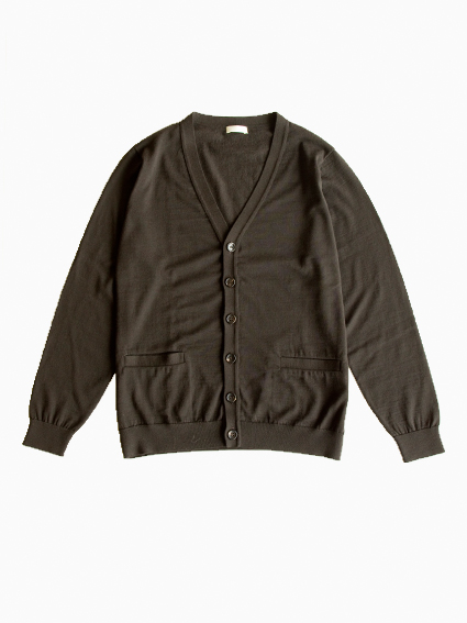 niuhans Wool Cardigan (Brown)