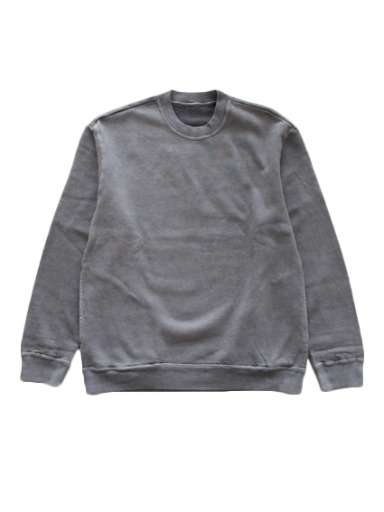 THE HINOKI Organic Cotton Sweat Shirt (Gray)
