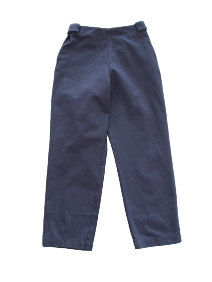 THE HINOKI Organic Cotton Easy Pants (Navy)