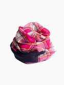 MOIS MONT Kids Scarf 40×140cm (Hot Pink)