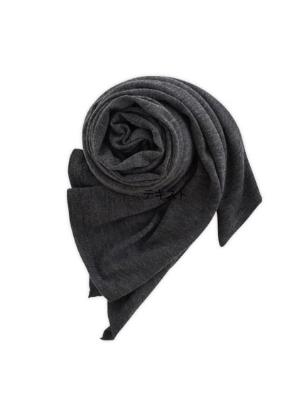 Cashmere High Gauge Plain Stole