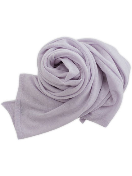 Cashmere High Gauge Plain Stall (Lilac)