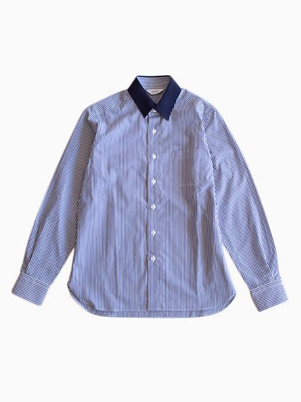 OH WELL Grosgrain Stripe Shirt (NV/NV)