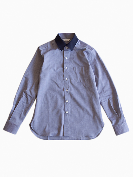 OH WELL Grosgrain Oxford Shirt (BL/NV)