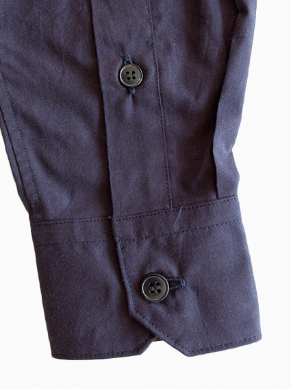 OH WELL Cotton Cashmere Chambray Shirt (NV)