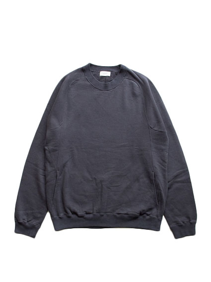 Organic Cotton Sweat Shirt (D.Gray)