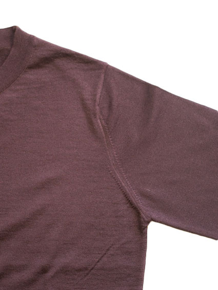 Fine Gauge Wool Sweater (Chocolate)