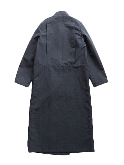 Horse Cloth Coat Dress (Black)