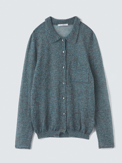 TARV Mohair Shirt (Blue)