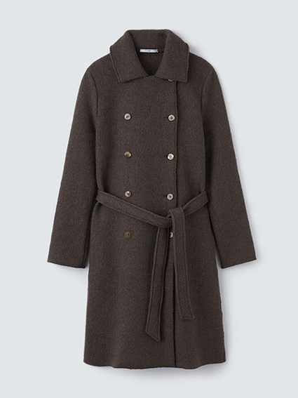 TARV Wool Trench(Brown)