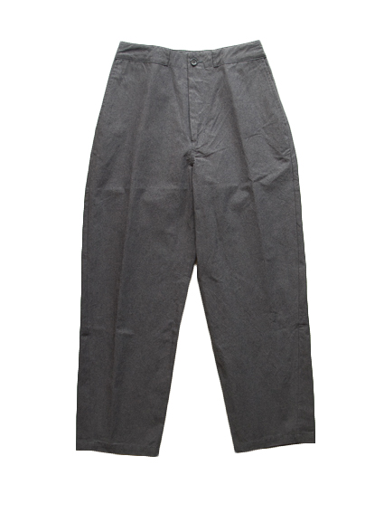 Cotton Tapered Pants (D.Gray)